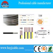 Preis der Gebäude Draht Kabel 75c trocken, 75cwet 16AWG Thwn Thermoplastischen PVC-Kabel, China Hersteller Kabel