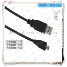 1.5M USB AM TO4 PIN Link FireWire 1394 DV Kabel für MAC PC