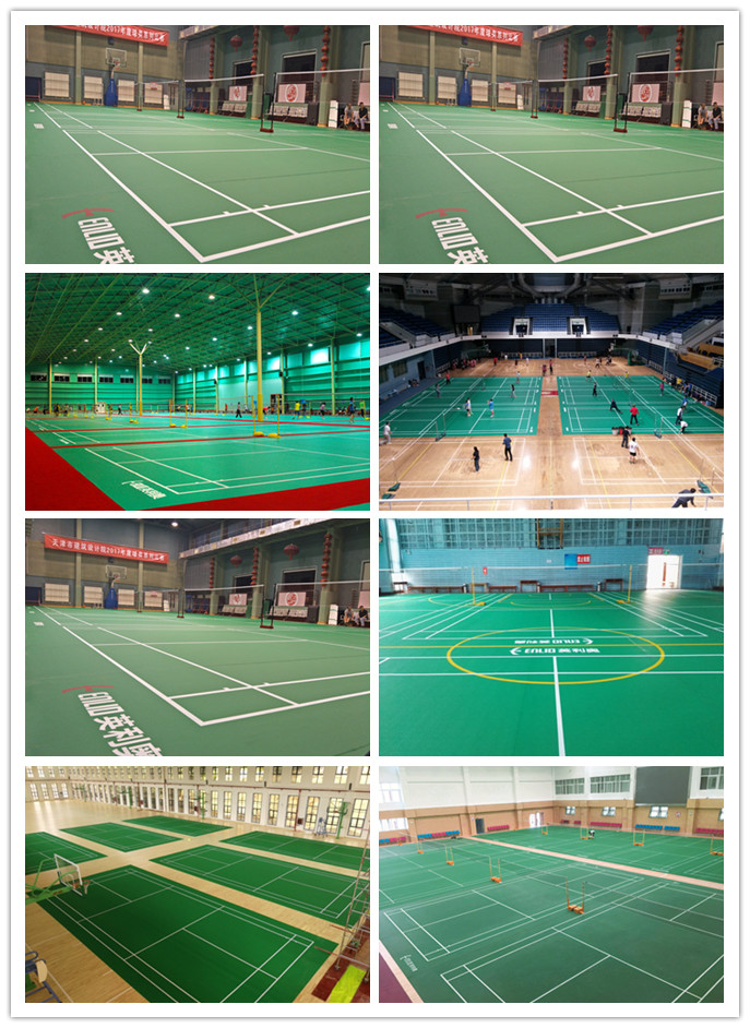 Badminton court mat Gallery