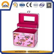 Linda caixa de armazenamento de joias de alumínio (HB-2044)