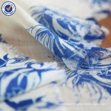 2014 Unique Design Digital Printing 100% Natural Wool Scarf SWW806