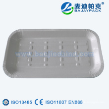 Safe Disposable Medical instrument loading tray