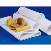 Saco de filtro industrial não tecido de alta temperatura da poeira de PTFE