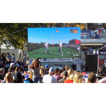 Waterdichte P6 Outdoor Mobiele LED Display voor Trailer