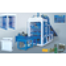 Machine de fabrication de briques de ciment de haute qualité et machine de fabrication de briques à verrouillage automatique des cendres volantes