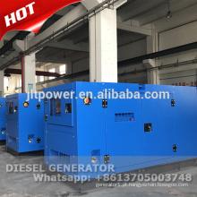 Gerador de energia a diesel de 100 kva trifásico a dois níveis com dossel