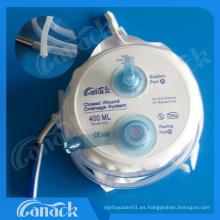 Los productos médicos quirúrgicos cierran el sistema de drenaje de heridas con Ce e ISO