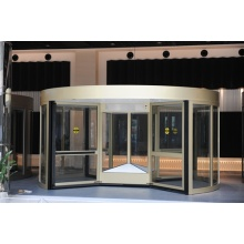 Commercial Four-wing Revolving Doors with Speed Control