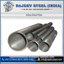 Tarifa accesible Tubo de acero de aleación GR P11, GR P22, P35 para el mercado industrial