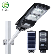 Lampione solare all-in-one integrato IP65 20W-60W