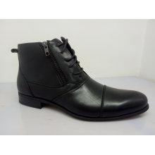 Zipper Lace Mens Office Shoes NX 531