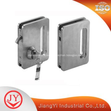 Cerradura de puerta de acero inoxidable para puertas de vidrio