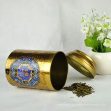 Пищевой ранг круглого печенья Tin Tea Tin Custom Tins Wholesale