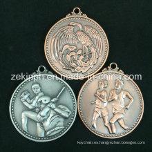 Medalla personalizada de metal antiguo