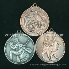 Customized Antique Metal Sport Medal