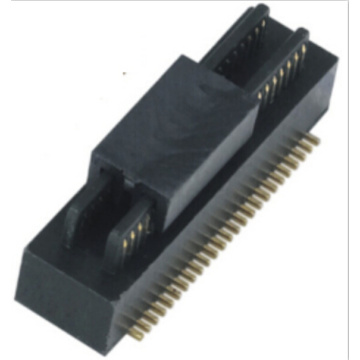 0.8mm Carte à carte connecteur mâle double rainure