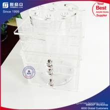 Clear Desk Acrylic Lipstick Holder with Drawers