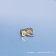 Aimant permanent de haute qualité de petit disque NdFeB Neodymium Ts16949