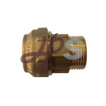 accouplements de compression en laiton pour tuyau PE