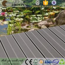 China Decking compuesto plástico de madera WPC del suelo de madera compuesto