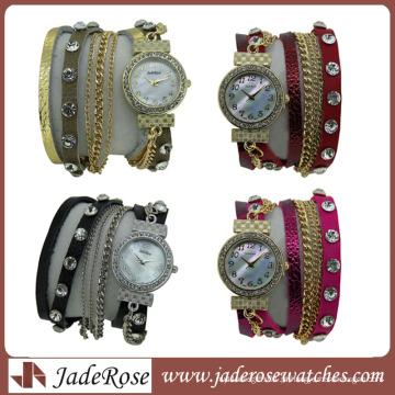 Venda quente em 2014 Quartz Fashion Lady Watch