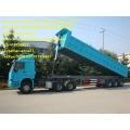 Sinotruk cimc   3Axles Tipping Trailer Truck