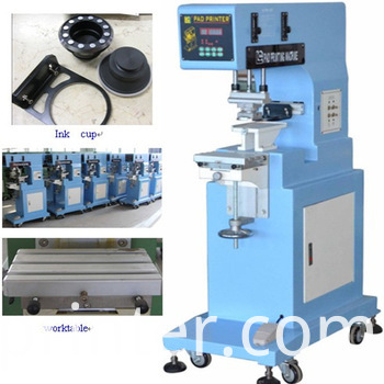 1-Color Helmet and Toys Pad Printing Machine