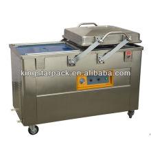 Двухкамерная вакуумная упаковочная машина для продуктов питания DZ5002SB 12