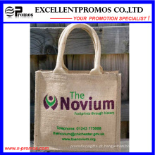 Eco-Friendly Logo personalizado promocional saco de juta (EP-B581706)