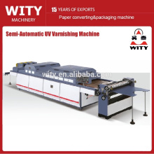 Paper sheet varnishing machine (Cost-Effective)