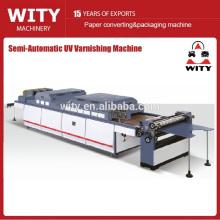 Máquina de envernizamento de papel semi automática (COST-EFFECTIVE)