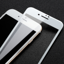 HD White Tempered Glass voor iPhone 7 Plus