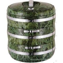 3 geteilte Schichten Lunchbox Lebensmittelbehälter