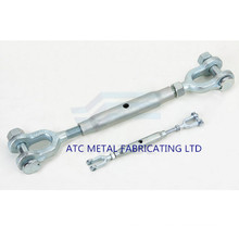 DIN 1478 Turnbuckle with Forged Forks Clevis Jaws