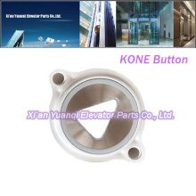 Brand new KONE Buttons Elevator Lift Spare Parts Stainless Steel Push Call Button
