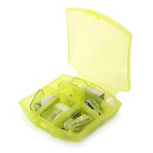 Офисный мини-набор канцелярских принадлежностей с пластиковой коробкой