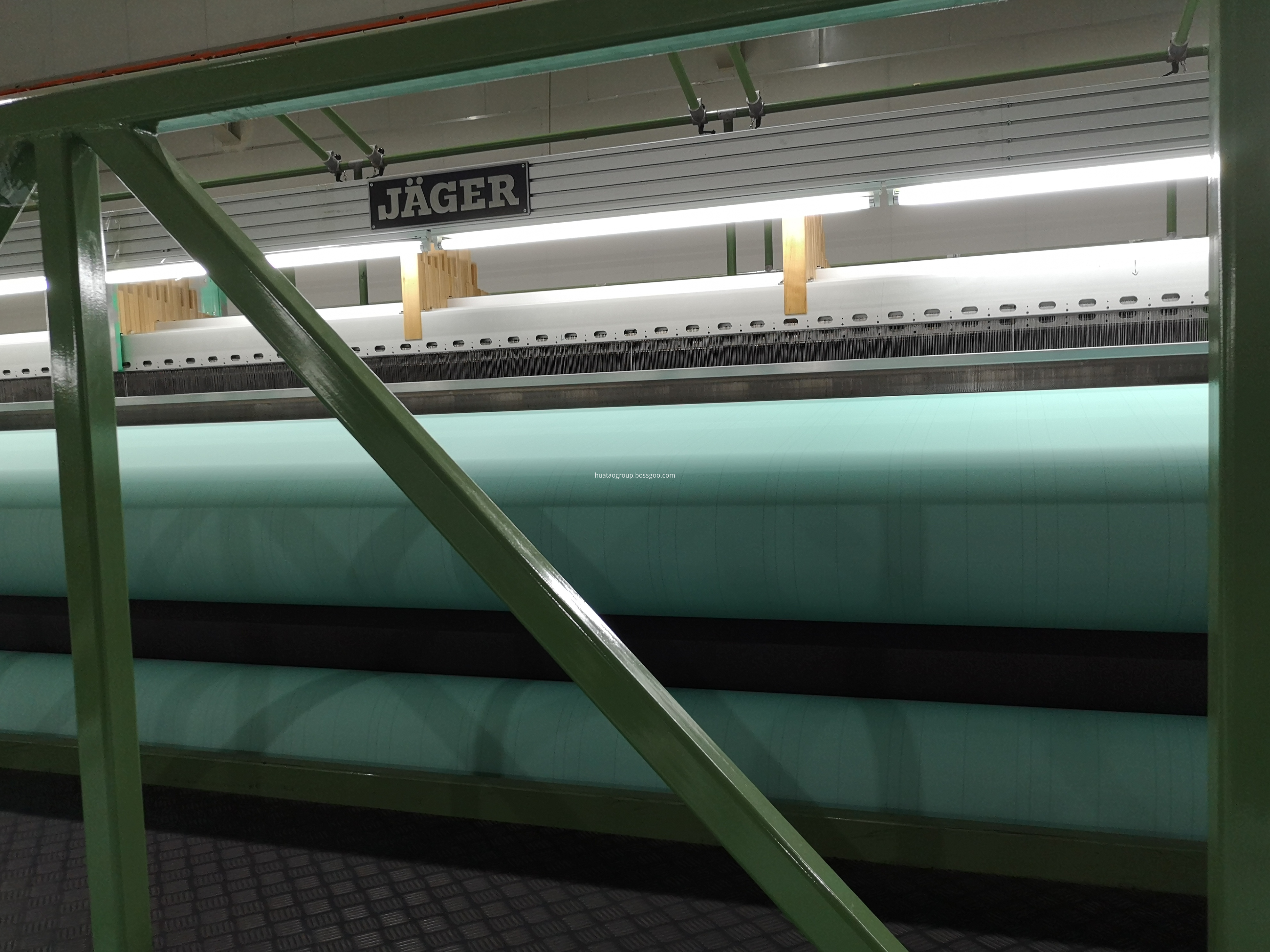 machine for woven fabric
