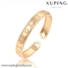 51450 Xuping nouveau design plaqué or pas cher gros bracelets