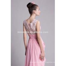 Liebe rosa Chiffon Hochzeitsfest Kleider für schöne Frauen