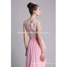 Love pink chiffon wedding party dresses for beautiful women
