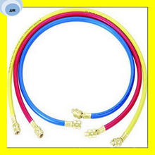 Three-Color Refrigerant Flexible Rubber Hose with Fittings on The Both Ends