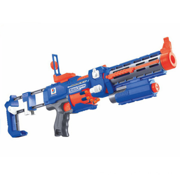 Plastic Toy of B/O Gun with Flashing Laser Light (H3599022)