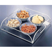 Custom Clear Lucite/Acrylic Serving Tray