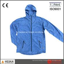Hoodies Wholesale Melange Fleece Jacket