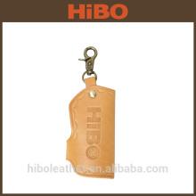 Genuine Leather Universal Car Key-chain Wallet Key Ring Holder Purse Key Bag
