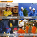 FR and anti-static overall for oil&gas industry