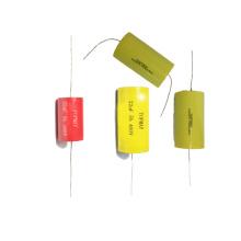 Tipo axial de condensador de película de polipropileno metalizado de 22UF / 160V