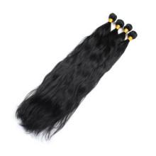 Высокое качество Remy девственницы бразильские естественная волна наращивание волос