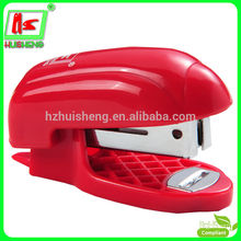 hot sale fashion mini plastic stapler(HS120-10)