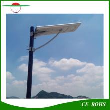 Датчик движения индукции тела Все в одном солнечном уличном свете 30W IP65 Наружное светодиодное дорожное освещение с Ce, RoHS